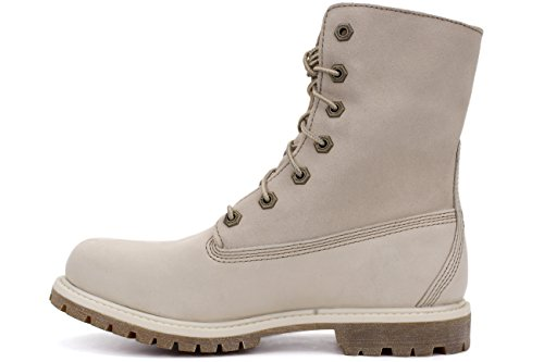 Timberland Authentics FTW_Teddy Fleece WP Fold Down Damen Stiefel Weiß