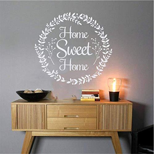 andtattoo Dorf Wandaufkleber Rustikale Künstler Wanddekoration Home Decor Abnehmbare Wandaufkleber 56 * 60 ()