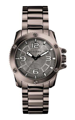 Marc Ecko M16510G1 - Reloj analógico de cuarzo para hombre, correa de acero inoxidable color gris