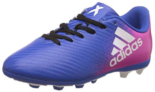 Adidas X 16.4 Fxg J, Unisex-Kinder Fußballschuhe, Blau (Azul/ftwbla/rosimp), 38 EU (5 UK)