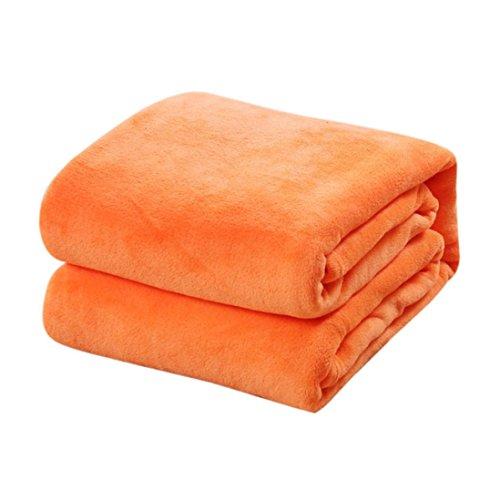 Pingtr - Manta de forro polar, suave, cálida, para sofá, cama, manta...