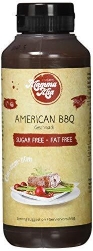 GymQueen Mamma Mia Zero Saucen - 265ml - American BBQ