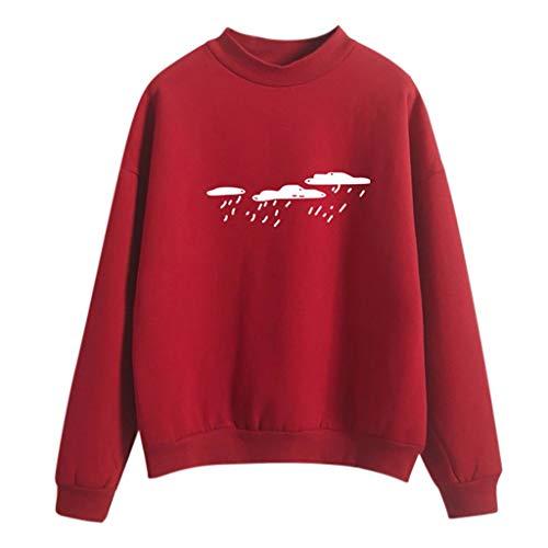Selou Damen Sweatshirts Kapuzenpullover Frauen einfarbig Langarm Tops Shirt Bekleidung Langarmshirts sportbekleidung Hoodie Damenbekleidung Party Clubbing mantel t-shirt blusen sportjacke oben