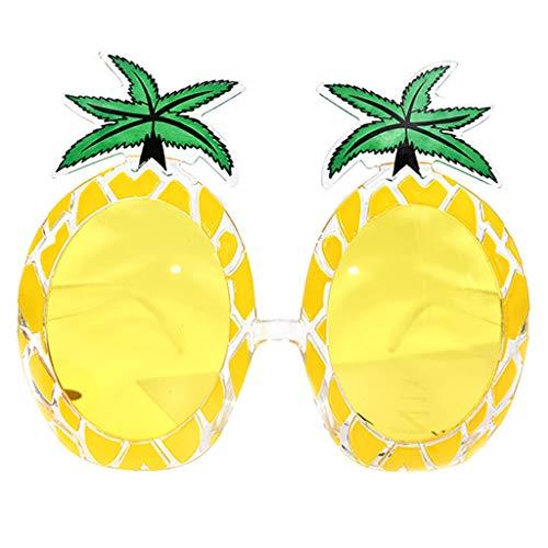 KItipeng Lustige Verrückte Kostüm Brille Neuheit Kostüm Party Ananas Oversized Übergroße Sonnenbrillen Zubehör