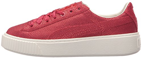 Puma Women s Basket Platform Lux Wn Sneaker  Toreador-Toreador  3 5 UK