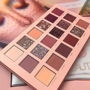 Huda Beauty Nude Eyeshadow Plate 18 colors