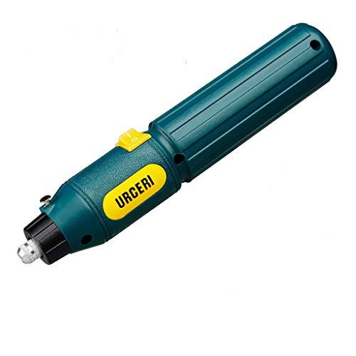 URCERI Mini Amoladora eléctrica batería, con 60pcs accesorios, batería recargable de 3.7V 2000 mAH, 12000rpm, herramienta rotativa para DIY, pulido, grabado, etc.