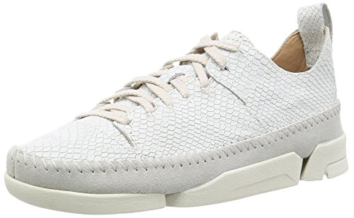 CLARKS ORIGINALS TRIGENIC FLEX F - Baskets basses / Baskets mode - Femme Blanc - Blanc