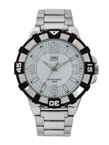 Q&Q Analog White Dial Men's Watch - Q840J201Y image