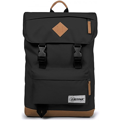 EASTPAK ROWLO EK946 INTO BLACK ZAINO Unisex Adulto e Junior Into Nero