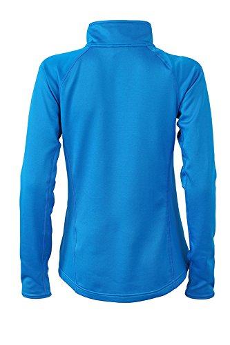 James & Nicholson Veste pour femme en polaire stretch pour femme Cobalt/bleu marine