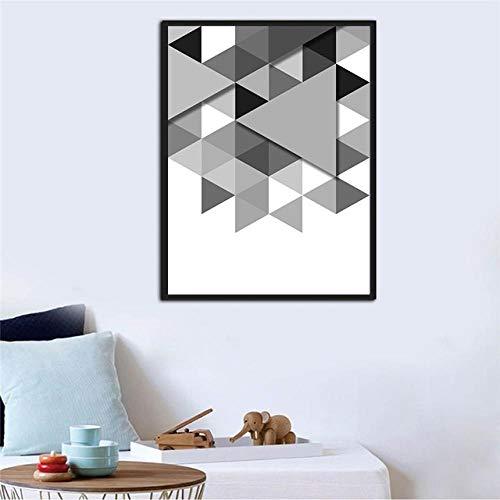 Geometrische Formen HD 1 Stücke Drucke Poster Leinwand Wohnkultur Malerei Wandkunst Modulare Bild Für Kinderzimmer Geschenk Geburtstag-60x80cm no Frame