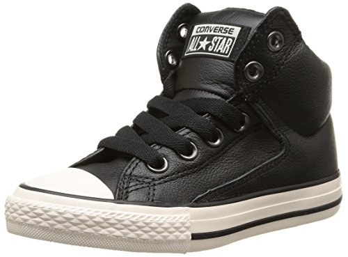 Converse Unisex-Kinder Ct High Street Low-top, Schwarz (Noir), 36 EU (Schwarze Leder-high-top Converse)