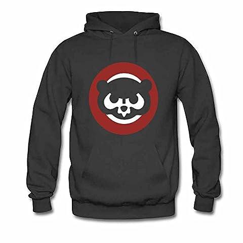 Bear Icon Design Hoodies Men's Sweatshirts L
