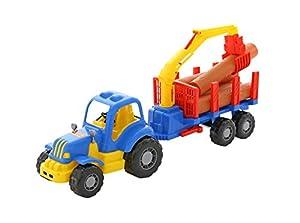 Polesie Polesie45041 Mighty - Tractor de Madera de Juguete