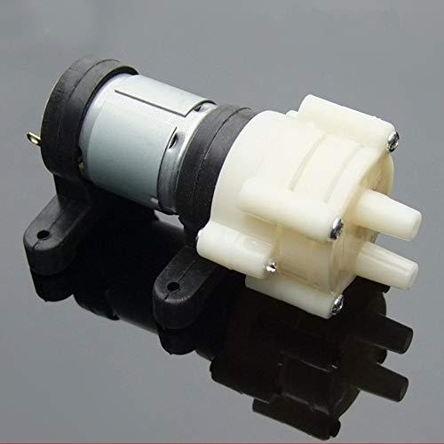 Qpllrzz Dc 6-12V R385 Mini Luftpumpe Motor für Aquarium Membranpumpe -