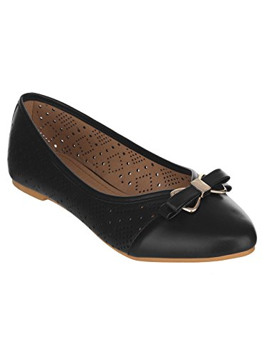SHUZ TOUCH Black Belly shoes(SIZE-39)