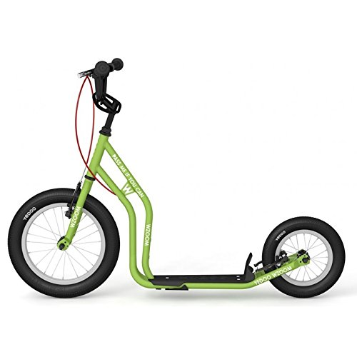 Yedoo New WZOOM Green | Bambini Roller con pneumatici a partire da 6anni | Kick Scooter per Bambini | Monopattino