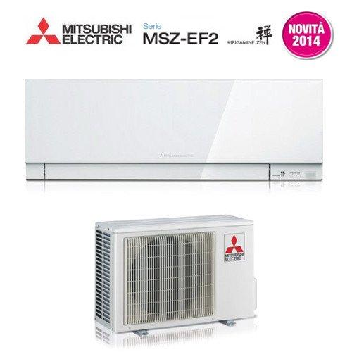 Climatizador Mitsubishi Electric Inverter Kirigamine Zen - MSZ-EF35VE2W - Color: blanco, potencia:...