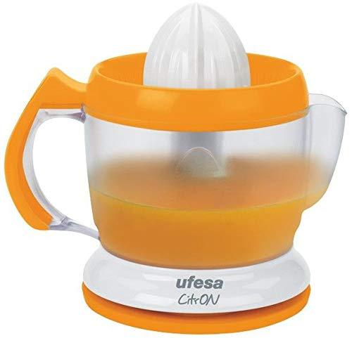 Ufesa Exprimidor EX4939 Activa Color Naranja, 40W, 1L, Pequeño