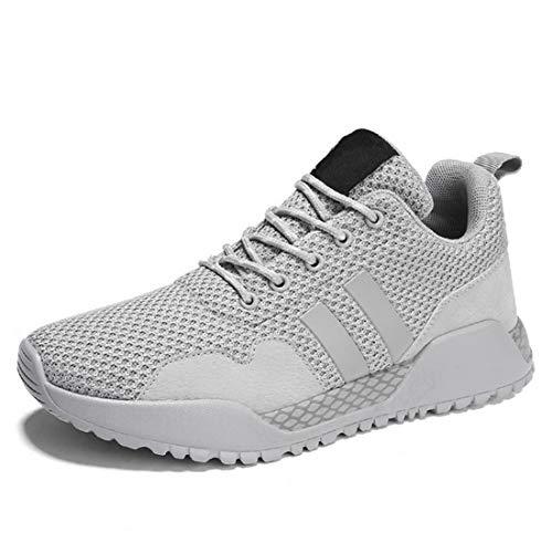 Stinnern Herrenschuhe Freizeit Sport Junge Schüler Hundert Runden Schuhe,Gray,39 ()
