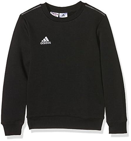 Sweat Training Adidas - adidas Core 15 sweat-Shirt Garçon Noir/Blanc FR