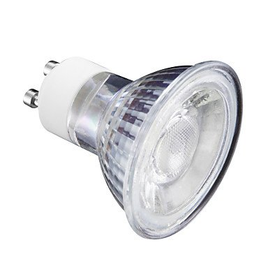 5W 400 lm GU10 Spot LED MR16 1 diodes électroluminescentes Blanc Chaud Blanc Froid 220V ( Angle de Rayonnement : 180° , Connecteur : GU5.3-Blanc chaud-220-240V )
