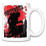 Roozio Nosferatu Filmplakat - Nosferatu Movie Poster Coffee Mug Cup - 11 Oz Ceramic Cup