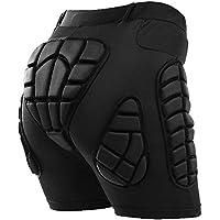 TOMSHOO Pantalones Acolchados con protección para la Cadera, Pantalones Cortos de Snowboard con Acolchados en 3D, Resistencia al Impacto Ropa Deportiva Transpirable para Patinar y Esquiar