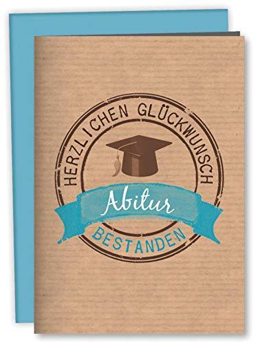 Zum Abitur: Geschenkverpackung für ein Geldgeschenk: Mit Kuvert