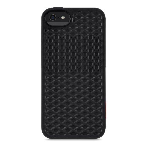 Belkin F8M698VFC00 Vans TPU Case Cover (geeignet für iPhone 5/5S) schwarz
