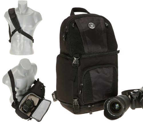 Bilora All Season Adventure Swing Snap Rucksack für DSLR Kamera mit Objektiv und Blitzgerät