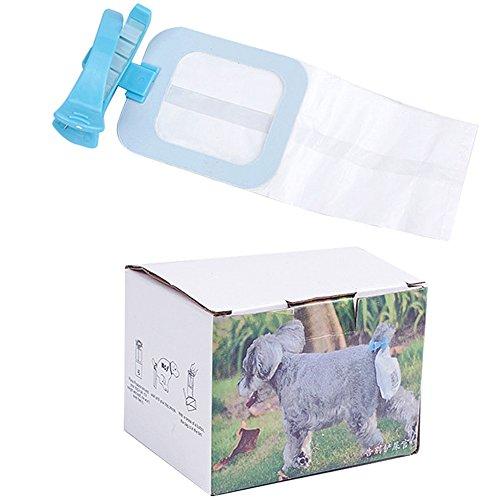 Amorar Hund Poop Taschen, Hände Frei Weiches Silikon Hund Kot Container, Tragbar Hund Müllsäcke für Große Mittlere Kleine Hunde