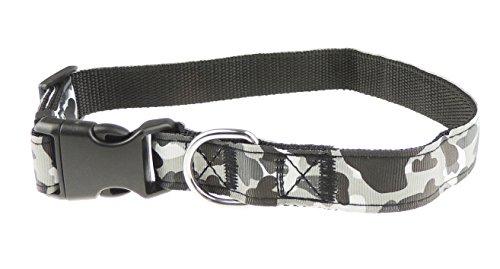 Große & Kleine Hunde/Welpen Camouflage Camo Nylon verstellbares Halsband