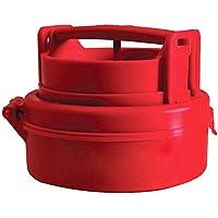Kingwin Cocina Manual Presión Panificadora Hamburguesa Carne Relleno eléctrica Molde – Rojo