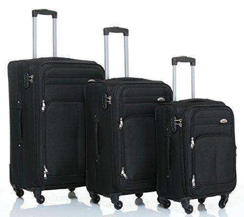 Beibye 8005plástico maletín 4ruedas equipaje de viaje Maleta Equipaje Set en 6colores