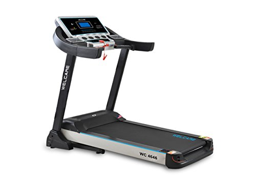Welcare Motorized Treadmill WC4646 2 HP(4 HP Peak),India's Most Trusted Fitness Equipment's Brand