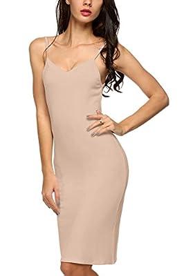 Cotton Full Slip for Under Dress, Ladies Sleep Nightie Chemise Nightdress
