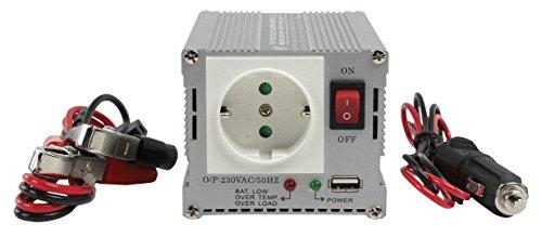 Eurosell HQ Profi Wechselrichter + USB-Port 12V -> 230V 300W 300 WATT KFZ AUTO BOOT Batterie Spannungswandler Konverter Converter