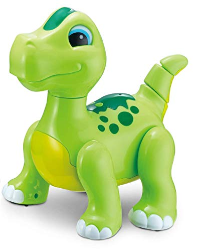 Pacific Toys Intelligent Remote Electronic Electric Intelligent Dinosaurs Toy (Green)