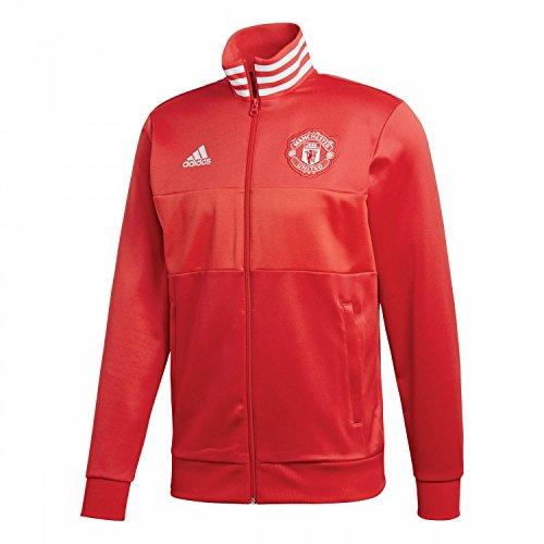 Adidas Manchester United FC Chaqueta, Hombre, Rojo (rojrea/rojuni), S