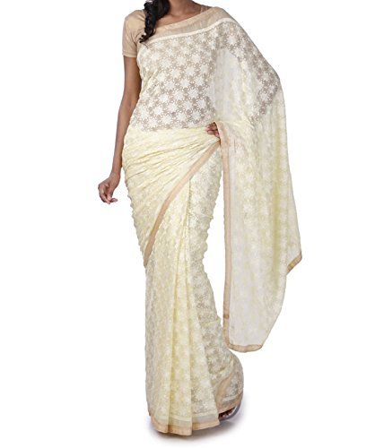 saree - Beautifull eythnic phulkari Saree - attractive ethnic embroidery design phulkari...