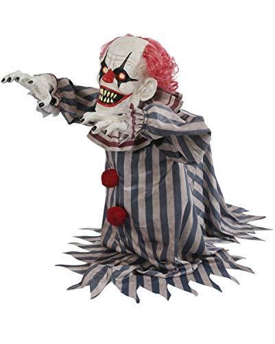 Aufspringender Horror Clown Animatronic als Halloween ()