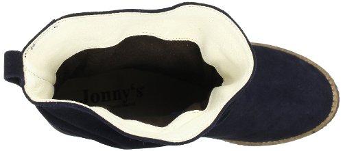 Jonny's Samira 6500 S Damen Biker Boots Blau (MARINO-DUNKEL BLAU)