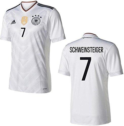 Trikot Adidas DFB 2017 Home Confed Cup (Schweinsteiger 7, M)
