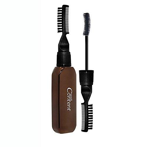 Doppel-Mascara | wasserdicht | dauerhaft | schnell trocknend | dicht lang | natürliches Curling | Keine Makeup-Mascara | - Salon Lash Kit