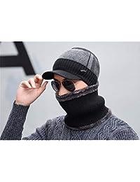 DESESHENME Sombreros de Invierno para Mujeres Hombres Gorros de Punto Sombrero  de Lana Casual Unisex Color b9bba169f69