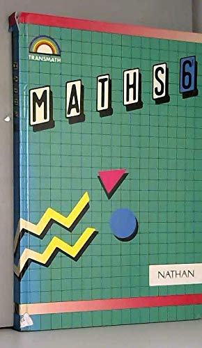 Transmaths, 6e, édition 1990. Livre de l'élève