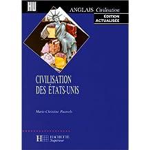 Civilisation des Etats-Unis, édition 1998
