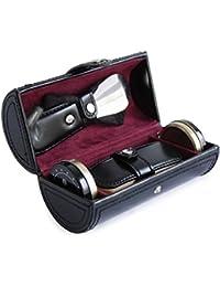 Cordays - Kit Deluxe para el Cuidado del Calzado con Cepillo, Calzador, Paño de Limpieza y Abrillantador Hecho a Mano en Piel – Kit Limpieza de Zapatos - en Color Negro CDM-00018